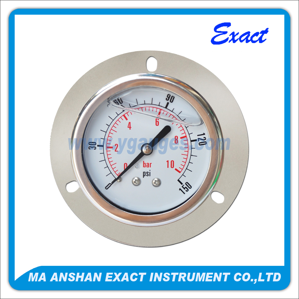 Rear Flange Type Pressure Gauge
