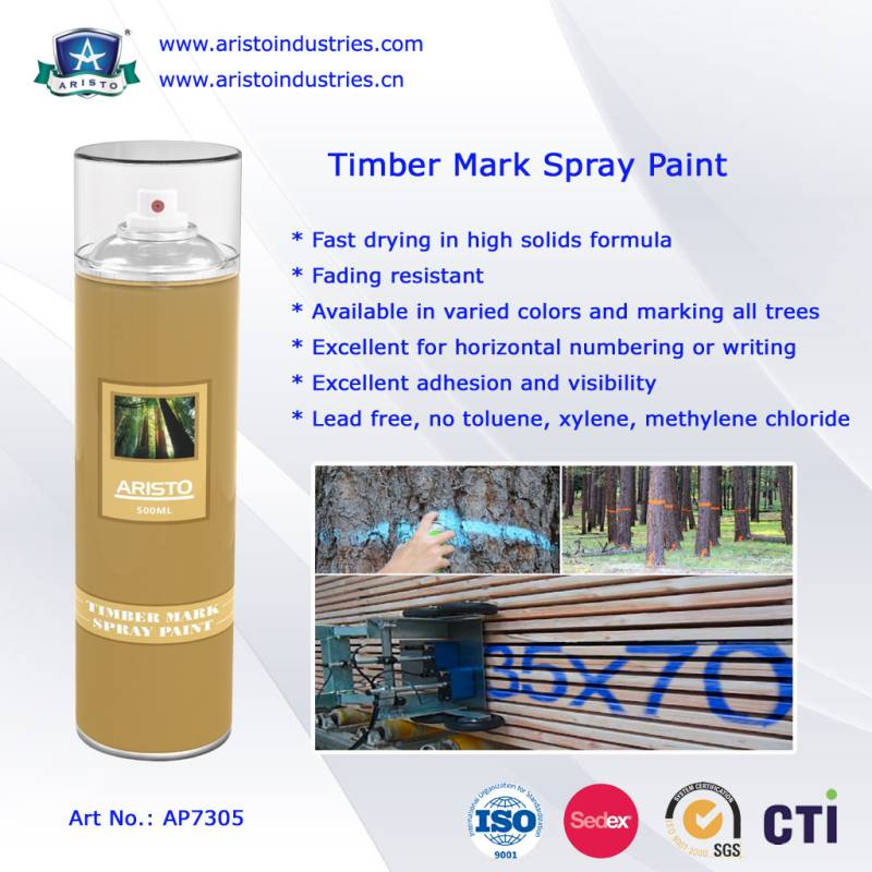 Aristo Timber Mark Spray Paint / Wood Marking Paint