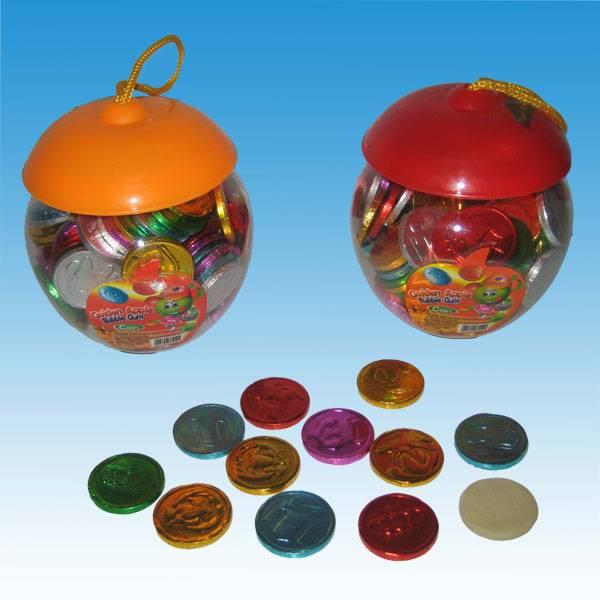 YUG010 Coin Bubble Gum