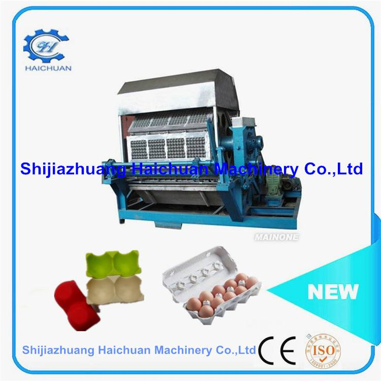 Large output 4000 pcs/hr paper egg tray making machine Pulp Moulding Egg Tray Machine