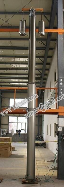 17Feet Portable Alumininum Telescopicing Masts