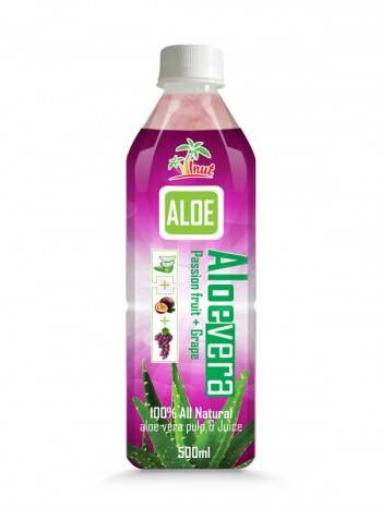 Aloe Vera Passion Fruit With Grape