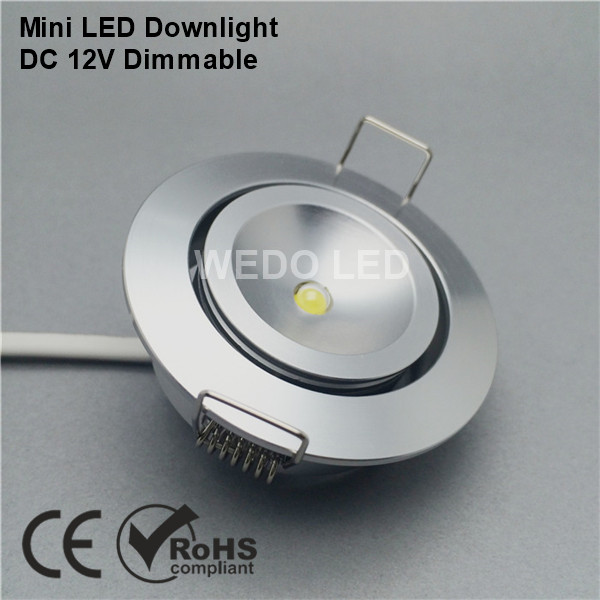 Modern Dimmable Recessed 12V LED Downlight