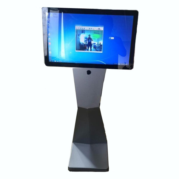 New 21.5 Inch Interactive Touch Screen Kiosk with 5MP Camera