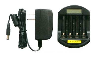 Soshine LCD LiFePO4 14500 10440 /Ni-MH AAA AA Quick Battery Charger (USB 5V+AC100-240)