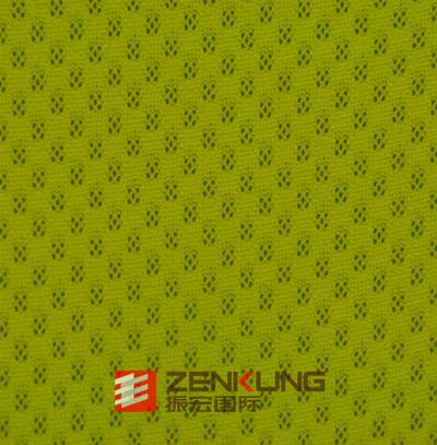 100% polyester mesh pique fabric dry fit