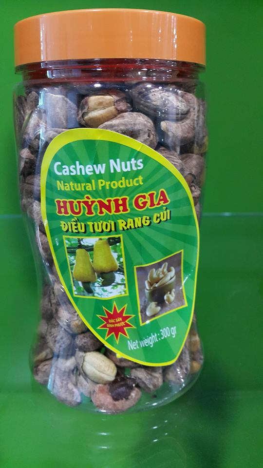 CASHEW NUTS SALTED & ROASTED