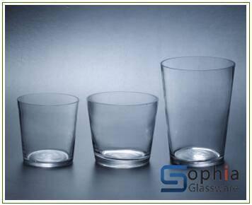 cone glass vases