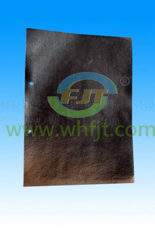 Al--woven cloth/Fiie retardant bubble /AL heat insulation sheet