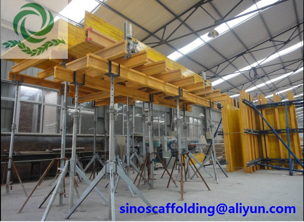 Concrete Formwork Construction Steel Props with Low Labor Cost