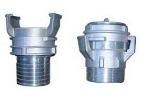 Aluminium French Coupling by CNC Turning
