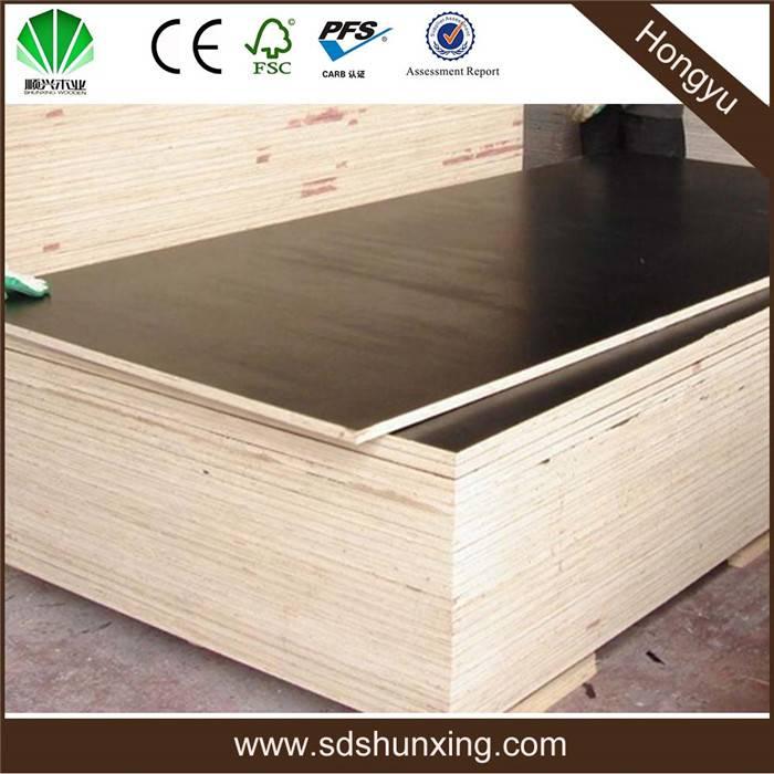 4*8 eucalyptus veneer poplar core plywood