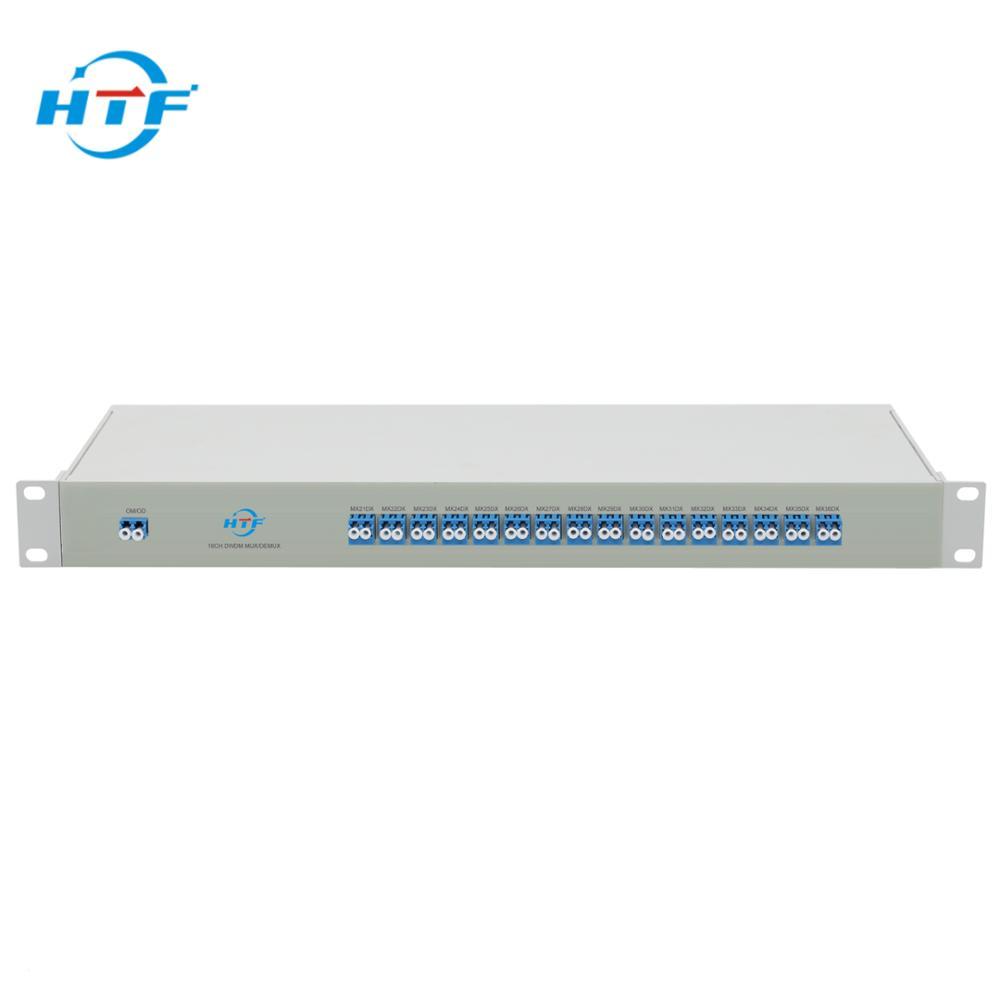 16CH DWDM Mux Demux Single Fiber For ODN(Optical