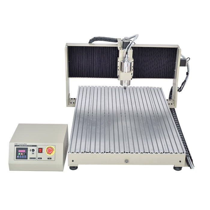 CNC 0Z 2200W 4 Axis CNC Milling Router for Metal and Stone