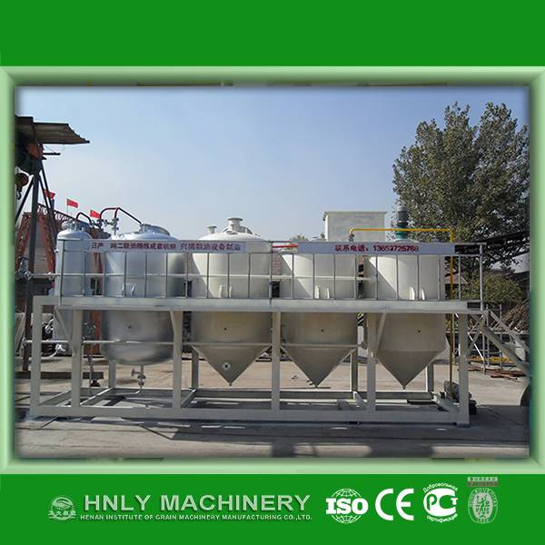 Palm oil refinery machine with good price