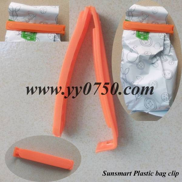 Keep fresh plastic bag clip