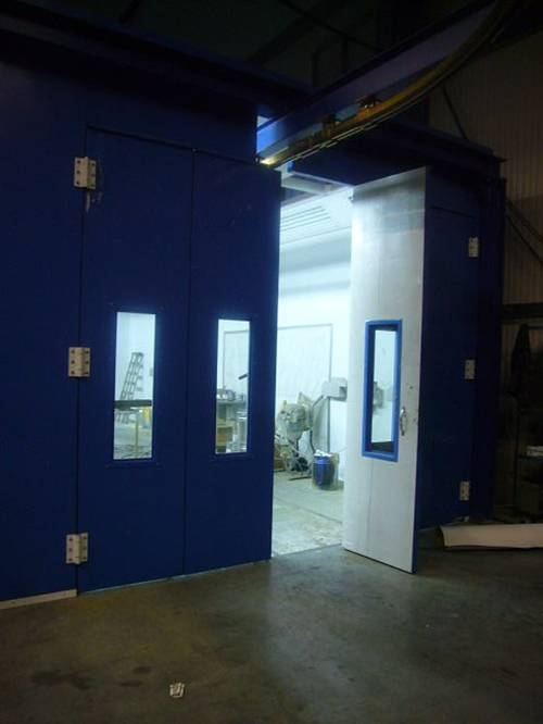 Diesel Heating System Spray Booth Paint Booth