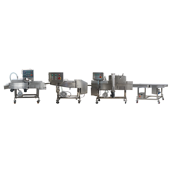 sleeve-fish ring production line
