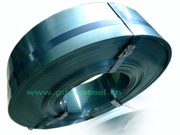 Blue tempered C55 C67 C75 C80 steel strip
