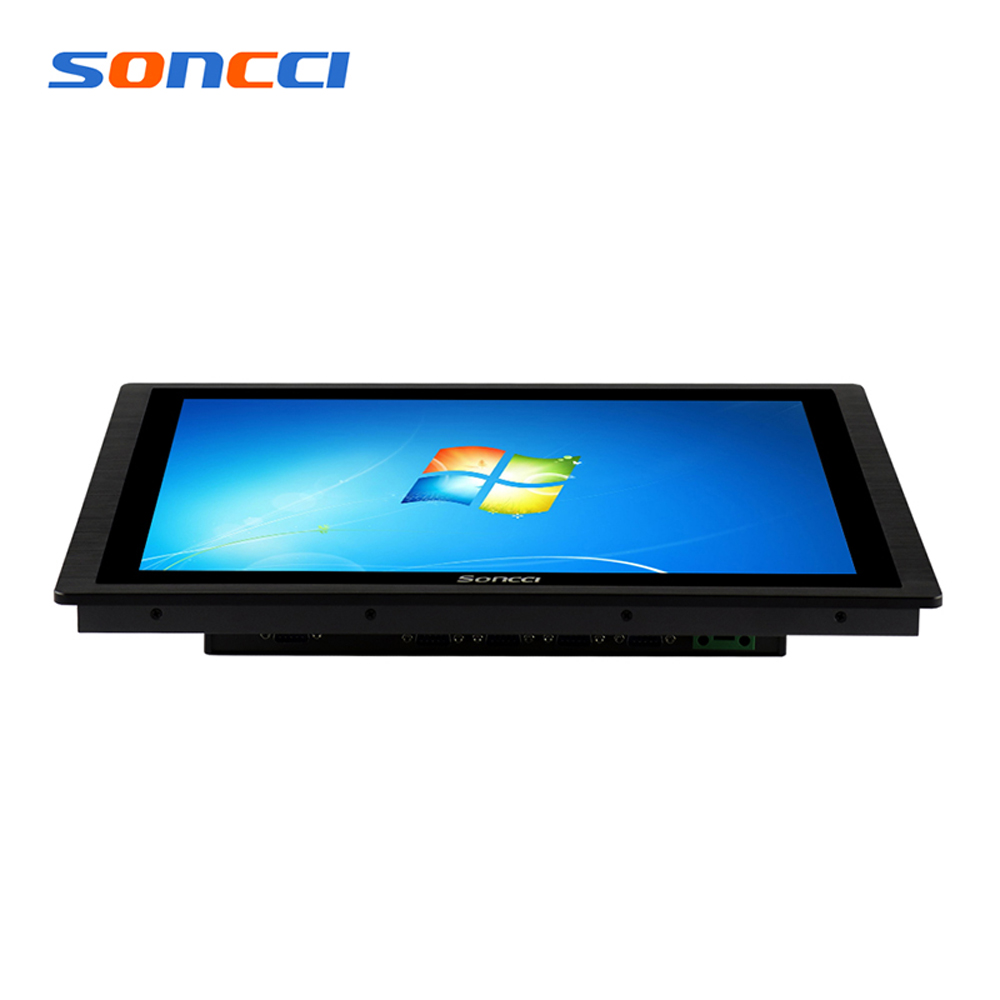 17 Inch Core i3 capacitive touch screen industrial panel pc all in one