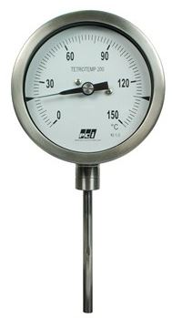 Industrial Gas Expansion Type Temperature Gauge - TT200