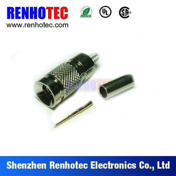 1.0/2.3 connector RG58 male Straight Plug crimp