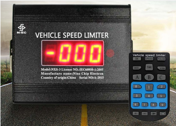Speed Limiter Mechnical Pedal and Speed Traps Warning Device Mandatory on Trucks/Buses, electronic c