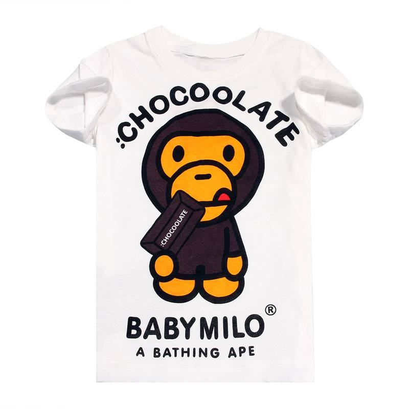 new products Kids cartoon clothing baby boys t-shirts for summer cottnon short sleeve blue tees plai