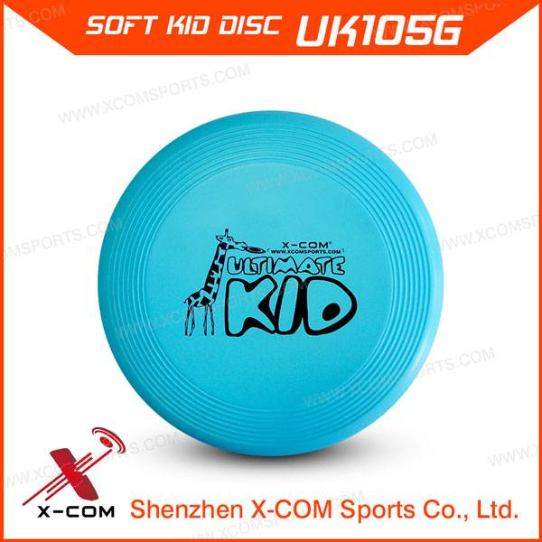 X-COM Kid Frisbee Toy PU Foam Soft Flying Disc