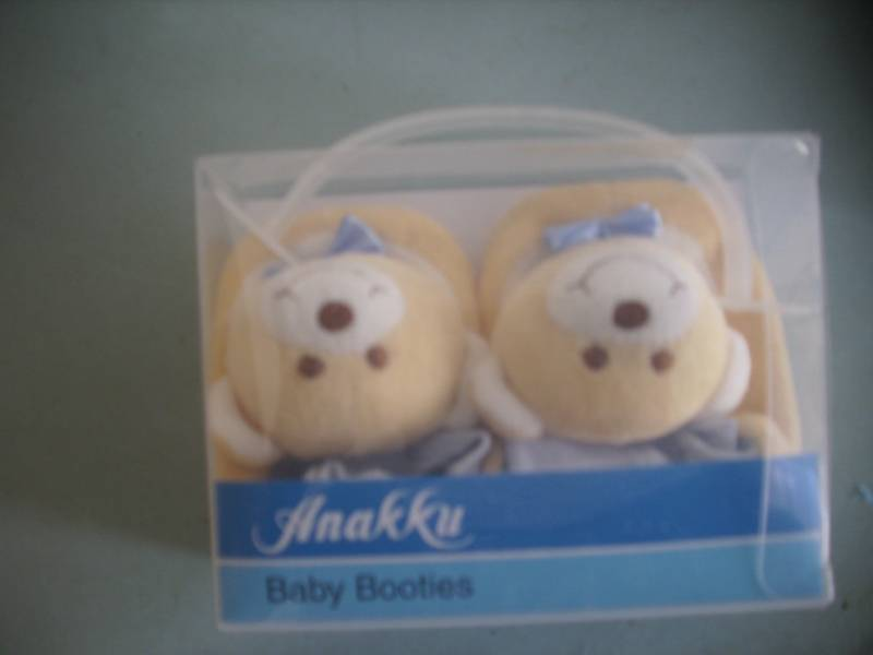 0-3M new born babyshoes baby socker bear gift