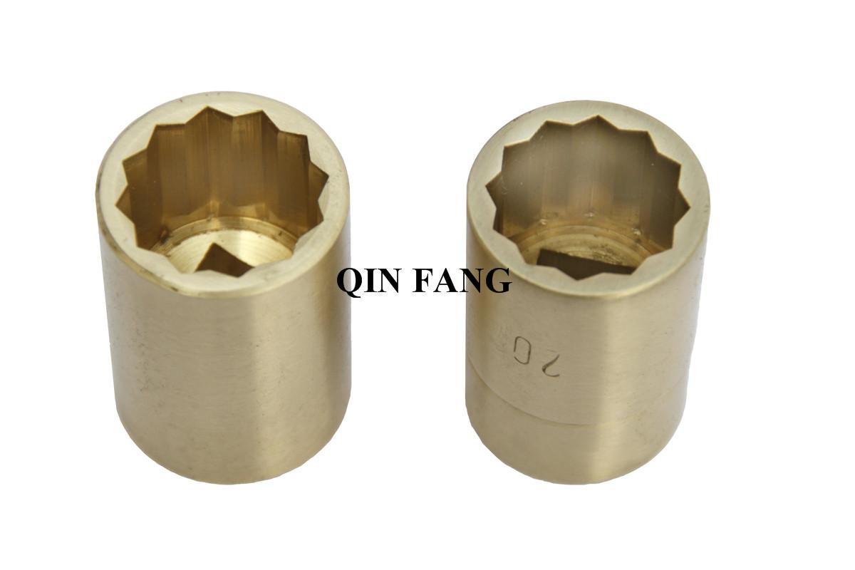 Non Sparking Al-Bronze Be-Bronze Heavy duty Impact Sockets