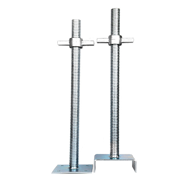 galvanized hollow scaffolding jack base