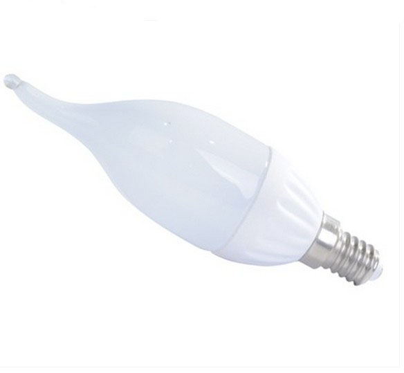 Flame candle led bulb F37 ceramic led bulbs