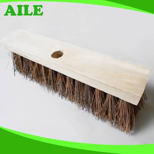 New Yiwu High Quality Stiff COCO Fiber Garden Brush