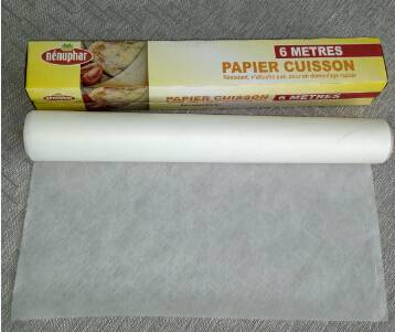 two side silicone coating parchment paper foil