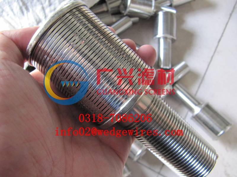 wedge wire filter strainer nozzles, filter nozzles