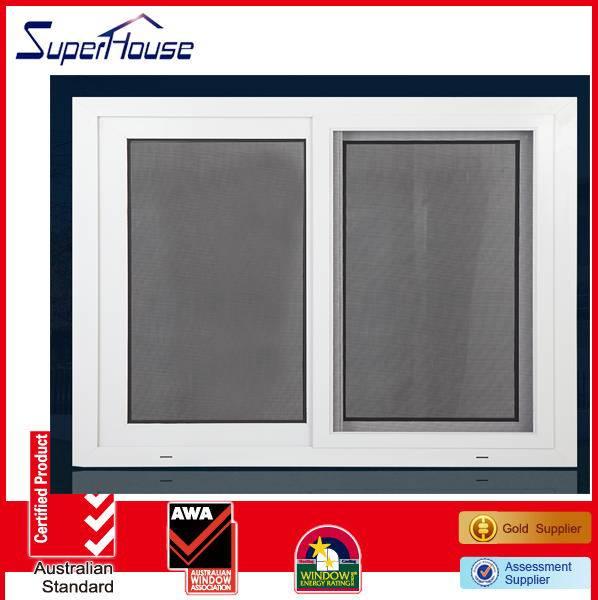 Australia standard aluminium sliding window with flynet