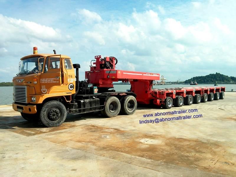 China Goldhofer trailer manufacturer