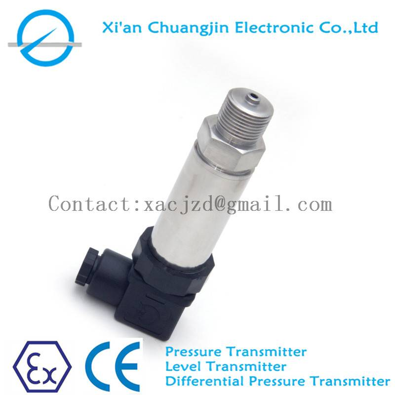 pressure monitoring water/oil/fuel pressure transmitter