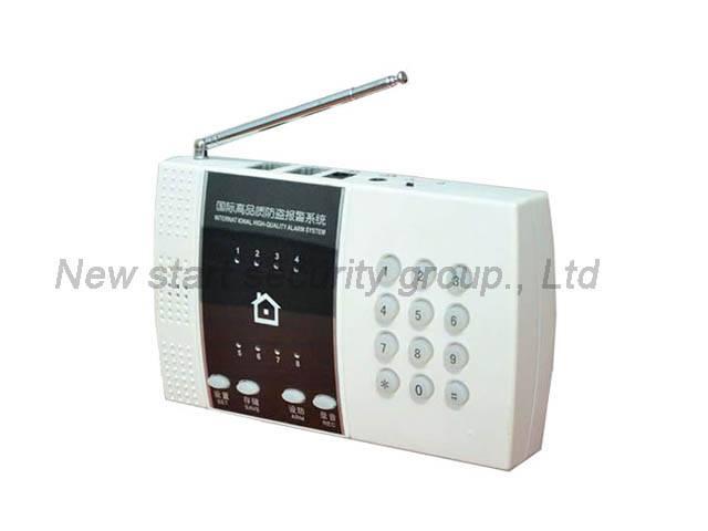 Wireless PSTN alarm system