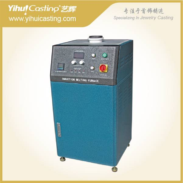 Induction Gold Smelter with all types of jewelry machines