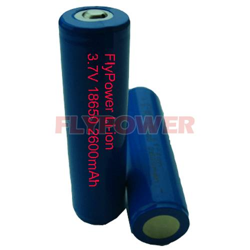 3.7V 2600mAh high cap 18650 Li-ion battery pack