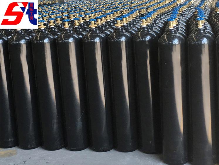 High purity industrial gas nitrogen / nitrogen cylinder