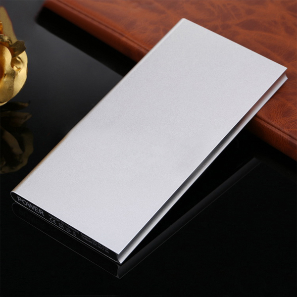Super slim power bank 10000mah portable lithium battery charger