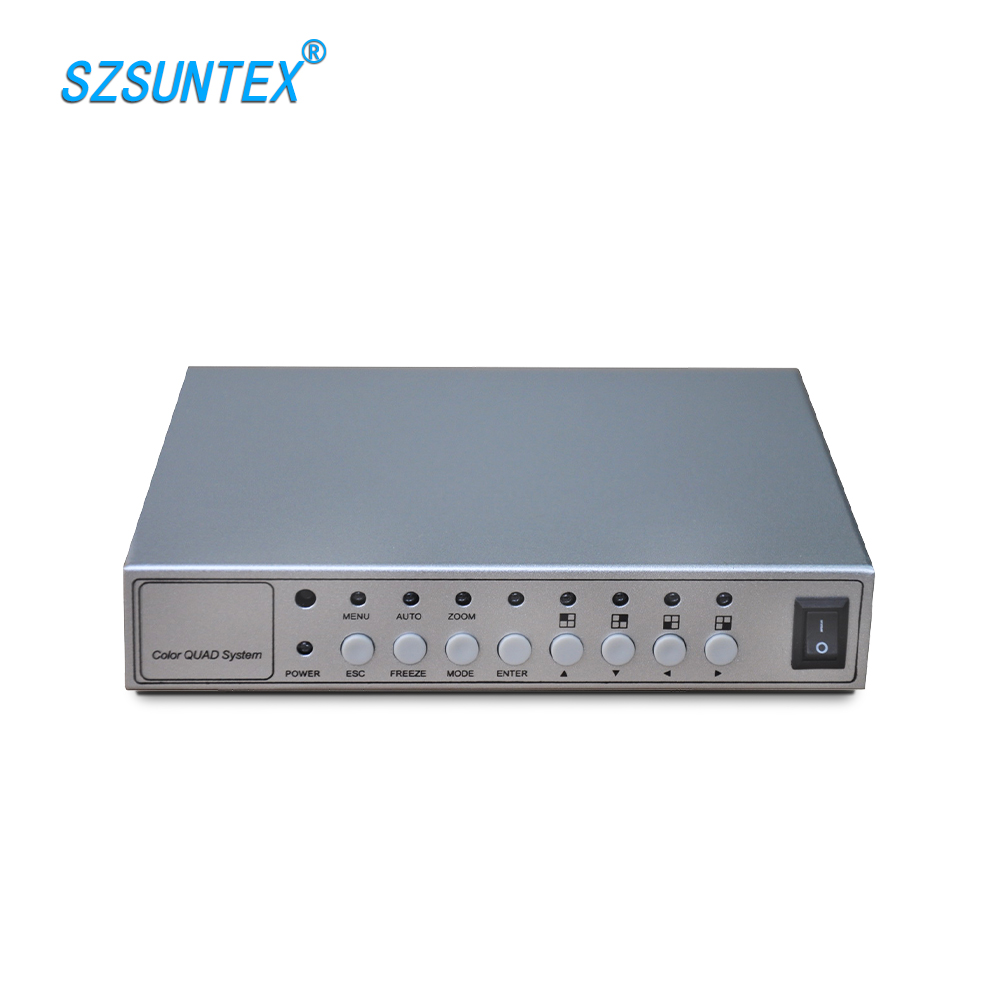 ST 400S 4 Channel Color Pip Video Quad Processor Made In China