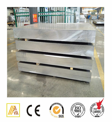 7075 T651 structer aluminum plate 7075 t6 for stadium rooftop