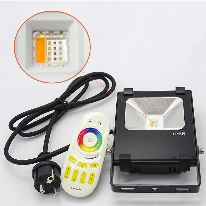 Smart wifi wall wsher dimmable led projector 10w RGBW RGB led floodlight floodlight led flood led li