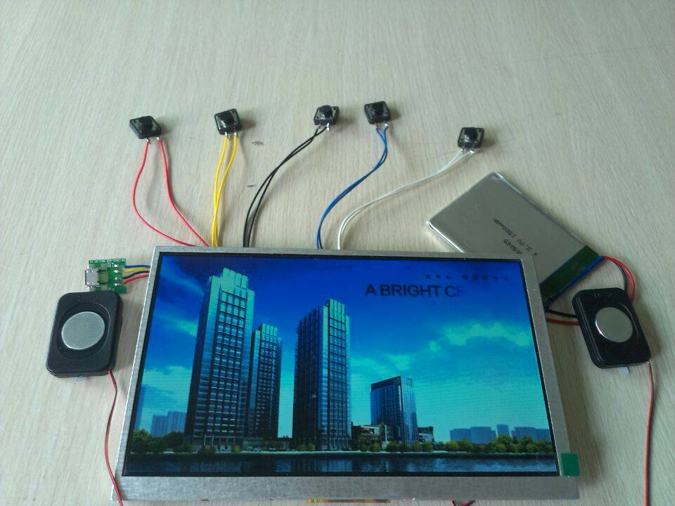 "7"" LCD  video modules,LCD video monitor"