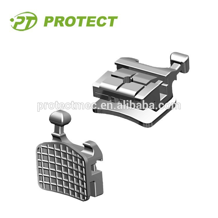 PROTECT II orthodontic self-ligating brackets with CE ISO FDA