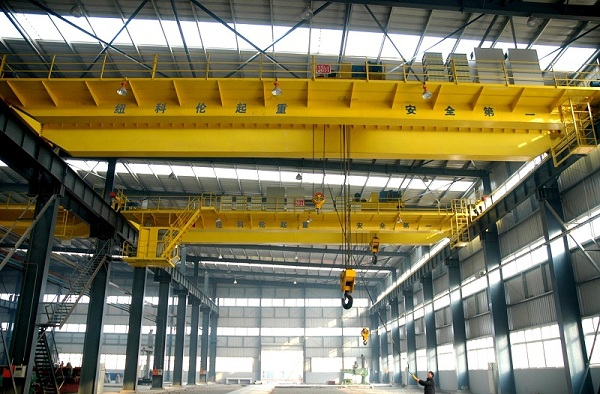 QD Model Double Girder 50 Ton EOT Crane Supplier From China